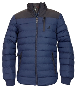 Kangol -  Funnel Neck Padded Jacket