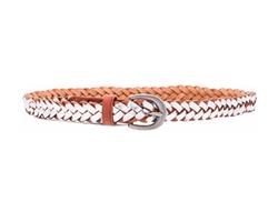 Linea Pelle - Metallic Braided Hip Belt