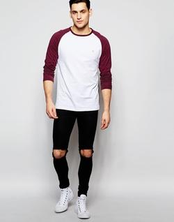 Farah - Contrast Reglan T-Shirt