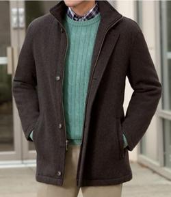 Jos. A. Bank - Heathered Wool Coat