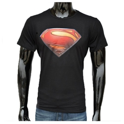 YiTeng - Fashion 3D Superman Print Short Sleeve T-Shirts