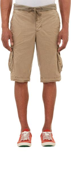 James Perse - Drawstring Waistband Cargo Shorts