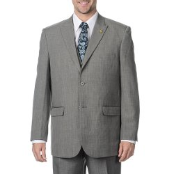 Falcone - Charcoal Vested 3-Piece Suit