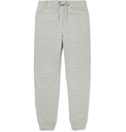 A.P.C. - Tapered Cotton-Jersey Sweatpants