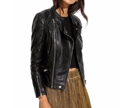Verdusa  - Leather Jacket