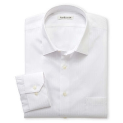 Van Heusen - Satin Stripe Dress Shirt