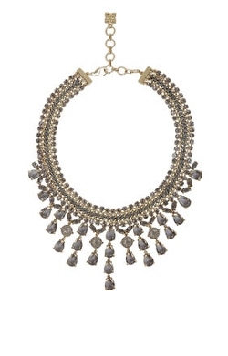 Bcbg Maxazria - Corded Gemstone Necklace