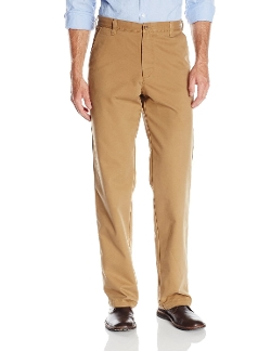 IZOD - Flat Front Straight Fit Pant