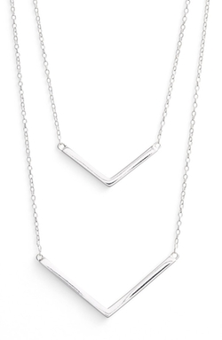 Argento Vivo - Double Pendant Necklace