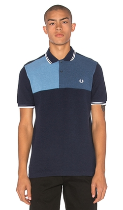 Fred Perry - Colour Block Chest Polo Shirt