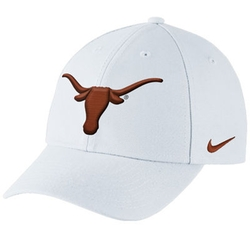 Nike - Texas Longhorns Nike Performance Dri-Fit Classic Adjustable Hat – White