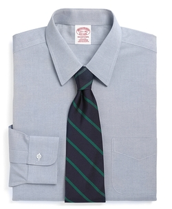Brooks Brothers - Non-Iron Traditional Fit Point Collar Dress Shirt