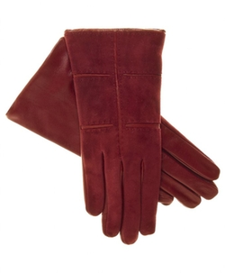 Fratelli Orsini    - Suede And Lambskin Gloves
