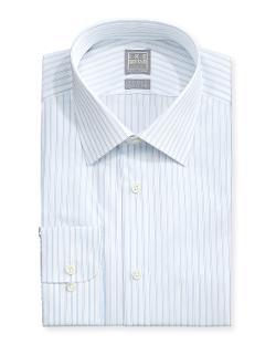Ike Behar  - Pinstripe Twill Dress Shirt