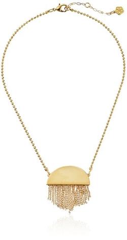 Trina Turk - The Modernist Fringe Pendant Necklace