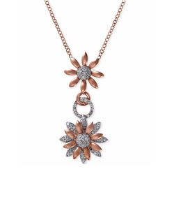 EFFY Diamond  - Flower Pendant Necklace