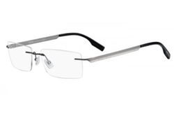 Boss Hugo Boss - Metal Grey Eyeglasses
