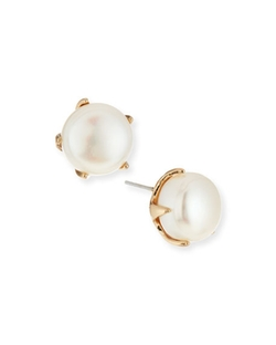 Lulu Frost  - Cultured Freshwater Pearl Stud Earrings