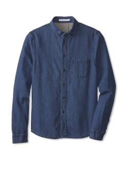 Alternative - Chambray Long Sleeve Button Up Shirt