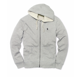 Ralph Lauren - Cotton-Blend-Fleece Hoodie