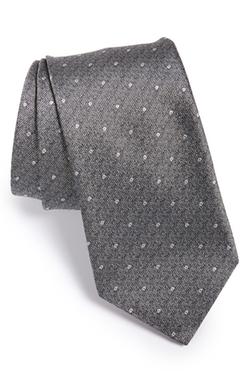 John Varvatos Star Usa - Dot Silk Blend Tie