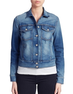 7 For All Mankind - Button Down Denim Jacket