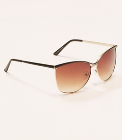 LOFT - Metallic Cateye Sunglasses
