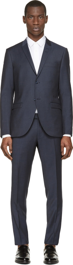Tiger Of Sweden - Navy Wool Evert Suit