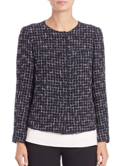 Lafayette 148 New York  - Dani Tweed Jacket