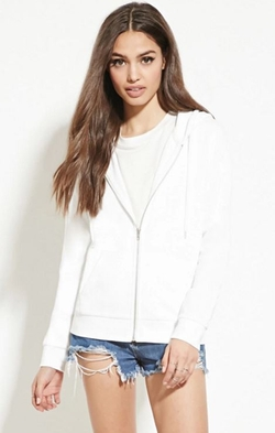 Forever 21 - Classic Zip-Up Hoodie