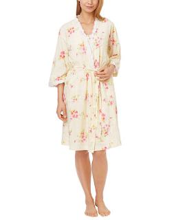 Carole Hochman  - Cotton Short Robe