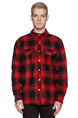 Ever - Chuy Flannel Shirt Jacket