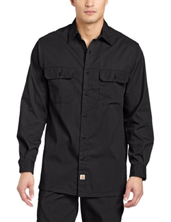 Carhartt  - Twill Long Sleeve Work Shirt
