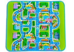 Pet In The Garden - Kids Car Road Track Children Play Mat