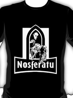 Red Bubble - Nosferatu the Vampire Tee Shirt