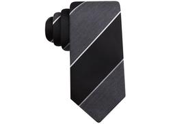 Tasso Elba  - Melange Bar Stripe Tie