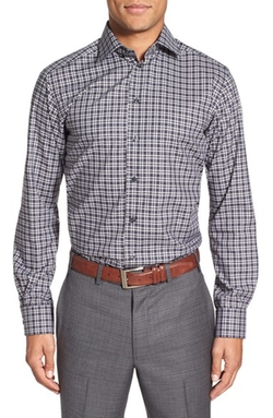 Eton Of Sweden - Contemporary-Fit Plaid Sportshirt