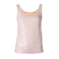 P.A.R.O.S.H. - Sequin Tank Top