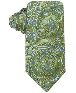 Geoffrey Beene  - Color Paisley Tie