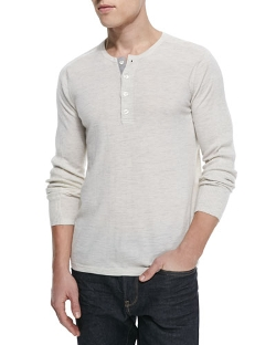 Vince  - Lux Wool-Cashmere Henley
