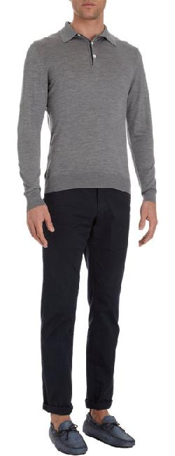 SVEVO  - Long Sleeve Polo