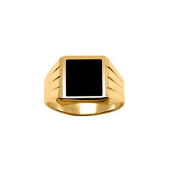 So Chic Jewels - Square Signet Ring