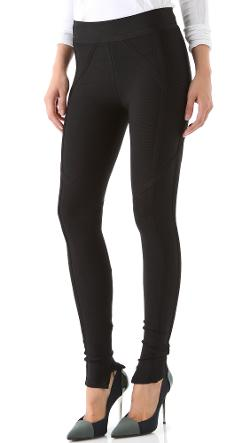 Herve Leger  - Signature Essentials Leggings