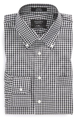 Nordstrom - Traditional Fit Check Dress Shirt