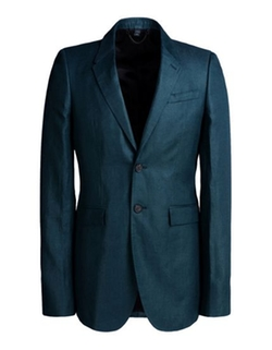 Burberry Prorsum  - Cotton Twill Blazer