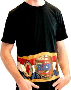 TV Store Online - Championship Belt on Waist T-shirt