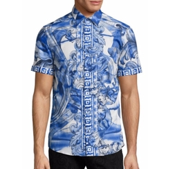 Versace Collection - Baroque Short Sleeve Sportshirt