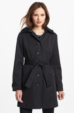 Michael Kors  - Trench Coat with Detachable Hood