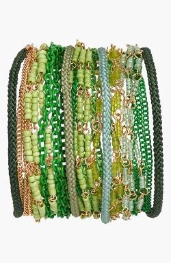 Sequin - Beaded Multistrand Bracelet