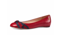 Gucci - Aline Leather Flats